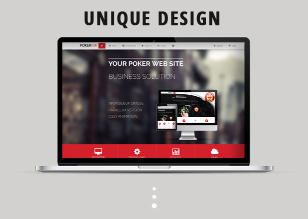 Poker Club - Responsive Template